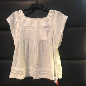 Brand New! white top